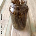 DIY PINE VINEGAR AFTER